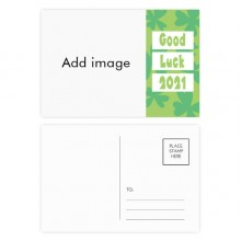 Good Luck 2021 Postcard Set Thanks Card Mailing