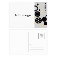 Sprint Gear Postcard Set Thanks Card Mailing Side 20pcs