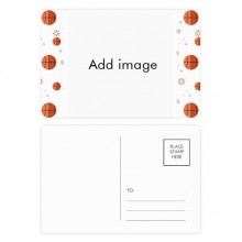 Basketball Postcard Set Thanks Card Mailing Side 20pcs