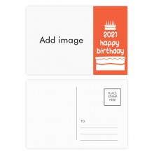 Happy Birthday 2021 Postcard Set Thanks Card Mailing