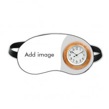 Sleep Eye Mask Clock Travel Shade Cover