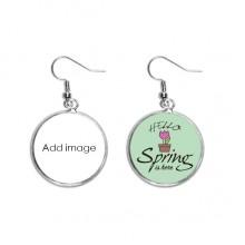Decoration Dangle Season Spring Earring Jewelry