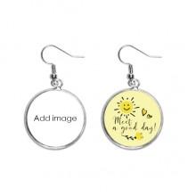 Ear Drop Sun Flower Earring Jewelry Fashion