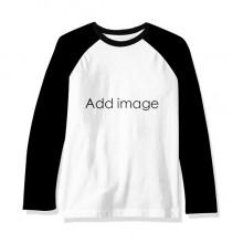 Long Sleeve Top Raglan T-shirt Cloth