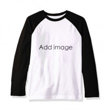 Long Sleeve Top Raglan T-shirt Cloth