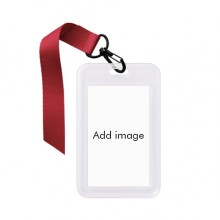 Business ID Card Case Badge Holder Strap