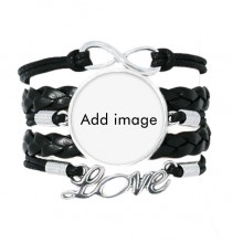 Bracelet Love Accessory Twisted Leather Knitting Rope Wristband