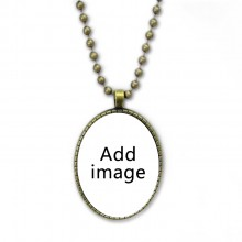 Necklace Vintage Chain Bead Pendant Jewelry Collection