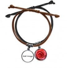 Bracelet Rope Hand Chain Leather Guitar Wristband