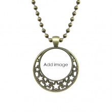 Pendant Star Necklace Moon Chain Jewelry