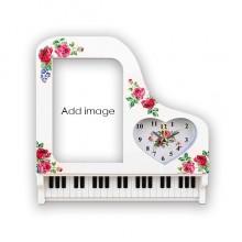 Photo Frame Alarm Clock Piano Desktop