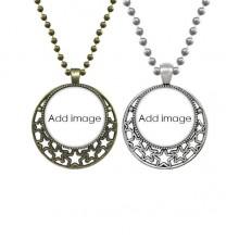Lovers Necklaces Pendant Retro Moon Stars Jewelry