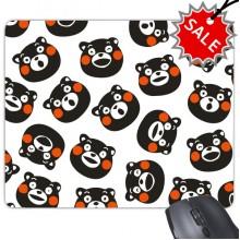 Kumamon Bear Cartoon Illustration Mouse Pad