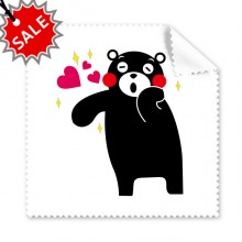 Kumamon Bear Pattern Glasses Cloth Cleaning Cloth Gift Phone Screen Cleaner