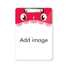 Mouth Clipboard Folder File Pad Backing Plate A4