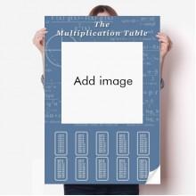 Wallpaper Digital Multiplication Tables Poster Equation