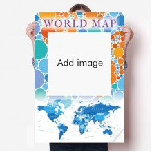 World Map Poster Wallpaper Continental Countries