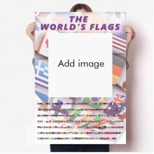 Flag Country Area Earth Poster Wall Stick Americas