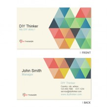 Colorful business card (pack of 100)