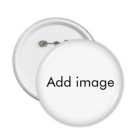 Pins Badge Button Round Clothing Decoration 5pcs