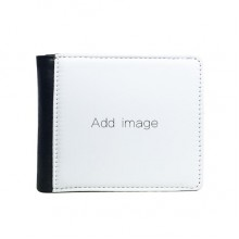 Flip Bifold Faux Leather Wallet  Multi-Function Card Purse Gift