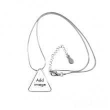 Necklace Triangle Pendant Jewelry Chain