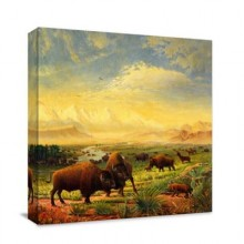 Herd of cattle Oil Paint by Number Kit