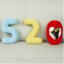 """520 I love you"" hold pillow (mini)"