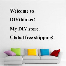 Diy Gobal Free Ship Quote Removable Wall Sticker Art Decals Mural DIY Wallpaper for Room Decal