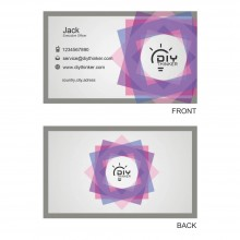 Elegant business card(pack of 100)