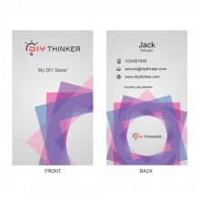 Geometric business card(pack of 100)