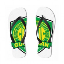 Chinese Super League team logo-Beijing Guoan flip flops