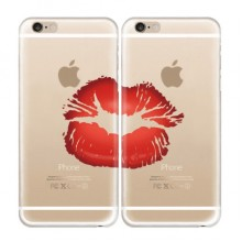 Lip Print iPhone 6/6s Plus Couple Cases