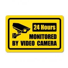 Camera monitoring sticker