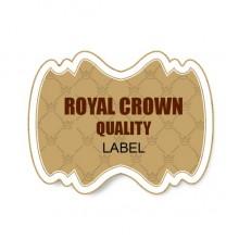 Crown shading sticker