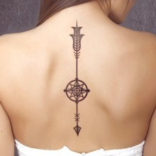 Classical pattern style tattoo