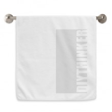 DIYthinker Circlet White Towels Soft Towel Washcloth 13x29 Inch