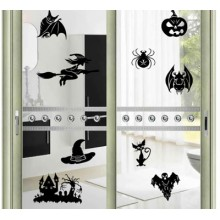 BlWitch Series Removable Wall Sticker Art Decals Mural DIY Wallpaper for Room Decal