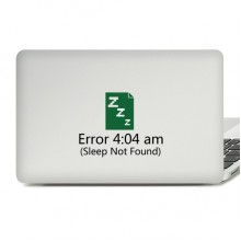 404 Error Laptop Sticker