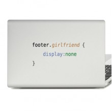 Funny Code Laptop Sticker