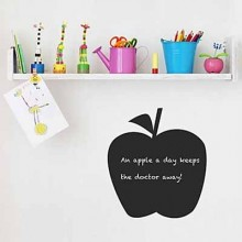 Apple Bedroom Chalkboard Decal Sticker Home Decoration