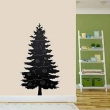 Christmas Tree Chalkboard Decal Sticker Home Decoration