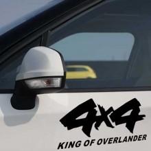 4X4 vehicle sticker