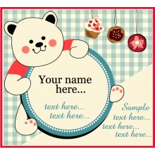 Little bear custom card
