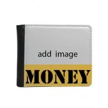 Money Wallet Purse Flip Bifold Faux Leather Multi-Function
