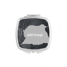 Broken Mirror Square Portable Hand Pocket Makeup