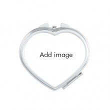 Heart Compact Makeup Pocket Mirror Portable Cute Small Hand Mirrors Gift