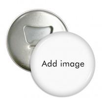 Bottle Opener Fridge Magnet Round Badge 3pcs