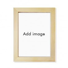 Desktop Wooden Photo Frame Picture Art Painting 7x9 inch