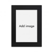 Desktop Photo Frame Picture Black Art Painting 5x7 inch